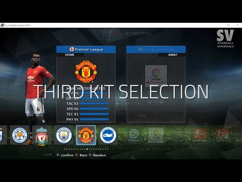 PES 2013[PC] | Third kit Selection | PES-ID Ultimate Patch