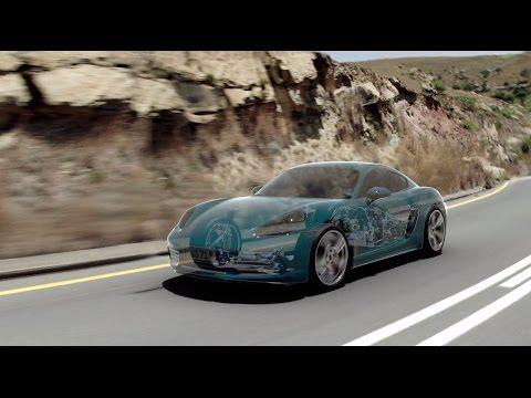 The new 718 Cayman – PTV (Porsche Torque Vectoring)