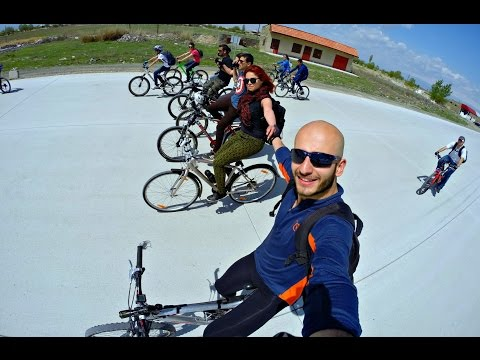 Cycling, Trip To Historical Dvin, Armenia (GoPro) HD