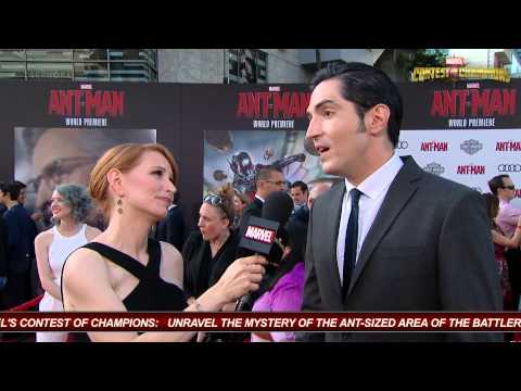 David Dastmalchian Talks AntMan