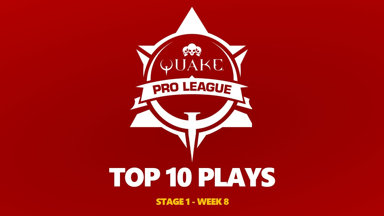 Quake Pro League - TOP 10 PLAYS - 2020-2021 STAGE 1 WEEK 8
