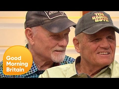 The Beach Boys Talk About Donald Trump and Their UK Tour   Good Morning Britain