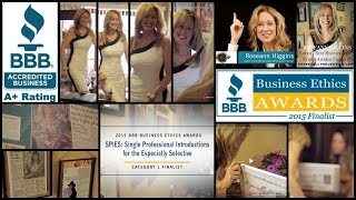 bbb business ethics award finalist phoenix matchmaker roseann higgins of spies especially selective
