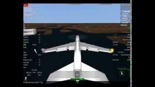 {Roblox} volo 747-400ER in avionico.