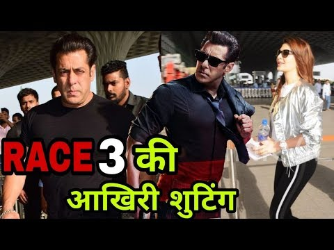 Race 3 Last Shooting | Salman Khan and Jacqueline Fernandez Going to Srinagar