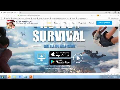 how to download rules of survival(ros) pc\mac