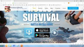 How to download Rules of survival(Fortnite/PUBG clone) for pc\mac !!!! 100% working