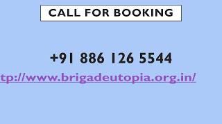 Brigade Utopia | Whitefield | Bangalore | Brigade Cornerstone Utopia