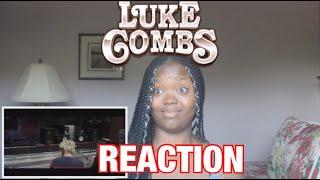 Luke Combs- Must've Never Met You REACTION!!!