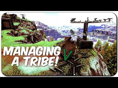 How Do You Run A Tribe? | NEW Official PVP Tribe Life Series | ARK: Survival Evolved | EP 13