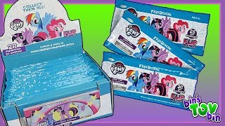 NEW My Little Pony Flip Madness Flip books by Enterplay