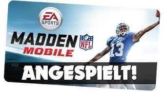 Madden NFL Mobile - Angespielt ! [German/Deutsch iOS Android APP]