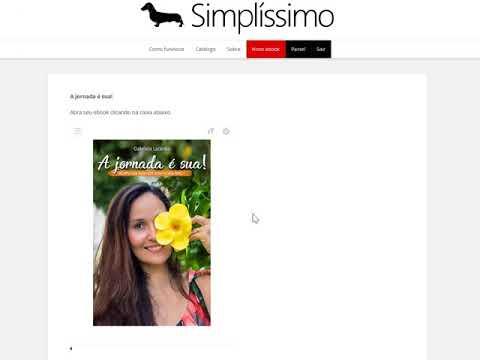 Como comprar e ler ebooks - Hotpage Simplíssimo