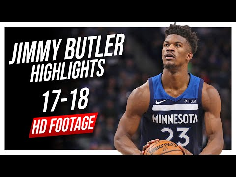 Wolves SG Jimmy Butler 2017-2018 Season Highlights ᴴᴰ