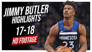 Wolves SG Jimmy Butler 2017-2018 Season Highlights ᴴᴰ