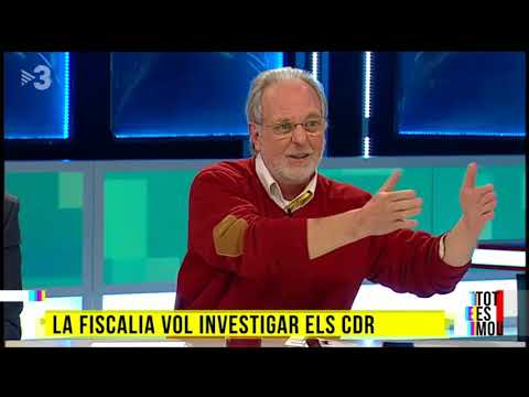 Intervenció Martí Olivella - Tot es mou (TV3)