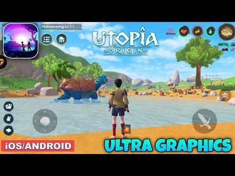UTOPIA ORIGIN - ANDROID / IOS GAMEPLAY