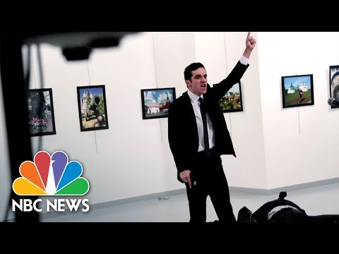 AP Photographer Shares Story Of Iconic Russian Ambassador Assassination Photo | NBC News