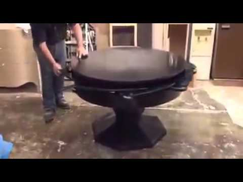 Dining Table With Expandable Interior Leaves YouTube - Dining table with expandable interior leaves