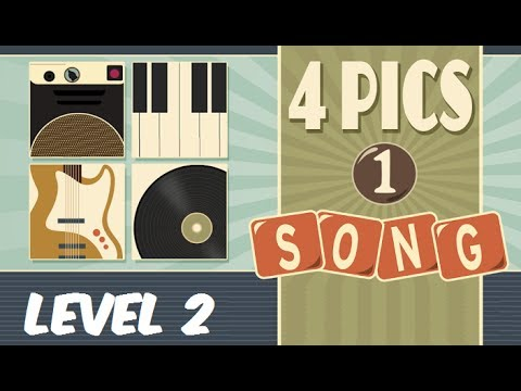 4 Pics 1 Song - Level 2 Answers 1-16 Soluciones Nivel 2