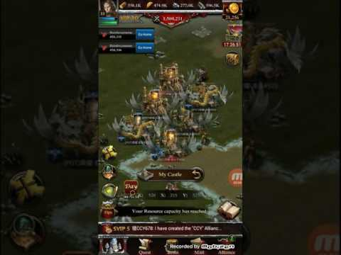 Clash Of Kings P6 Castles With Power More Than 1000 Million
