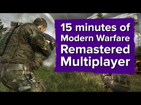 Call of Duty: Modern Warfare Remastered is having a tough