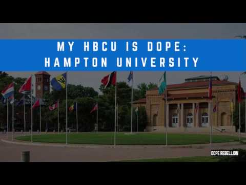 Dope Facts About Hampton University | My HBCU is Dope