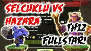 Selçuklu vs Hazara 4 You | 150-113 | QueenWalk + Hog, Lavaloon | Clash of Clans