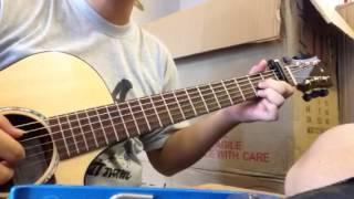 Yếu Đuối ( guitar cover) by Cường Elvy