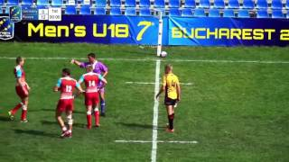 U18 7s Bucharest 2016 Russia vs Germany