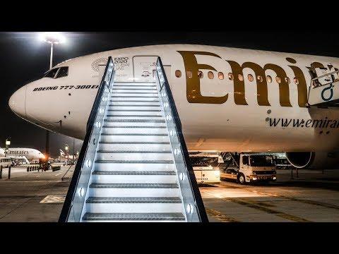 TRIP REPORT | Emirates | Boeing 777-300ER | Bangkok - Dubai (BKK-DXB) | Economy Class
