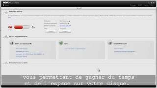 Comment faire pour configurer Nero LIVEBackup dans Nero BackItUp
