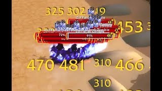Classic WoW Lvl 44 Mage solo ZF graveyard - 120k+ exp & 35g+ per hour