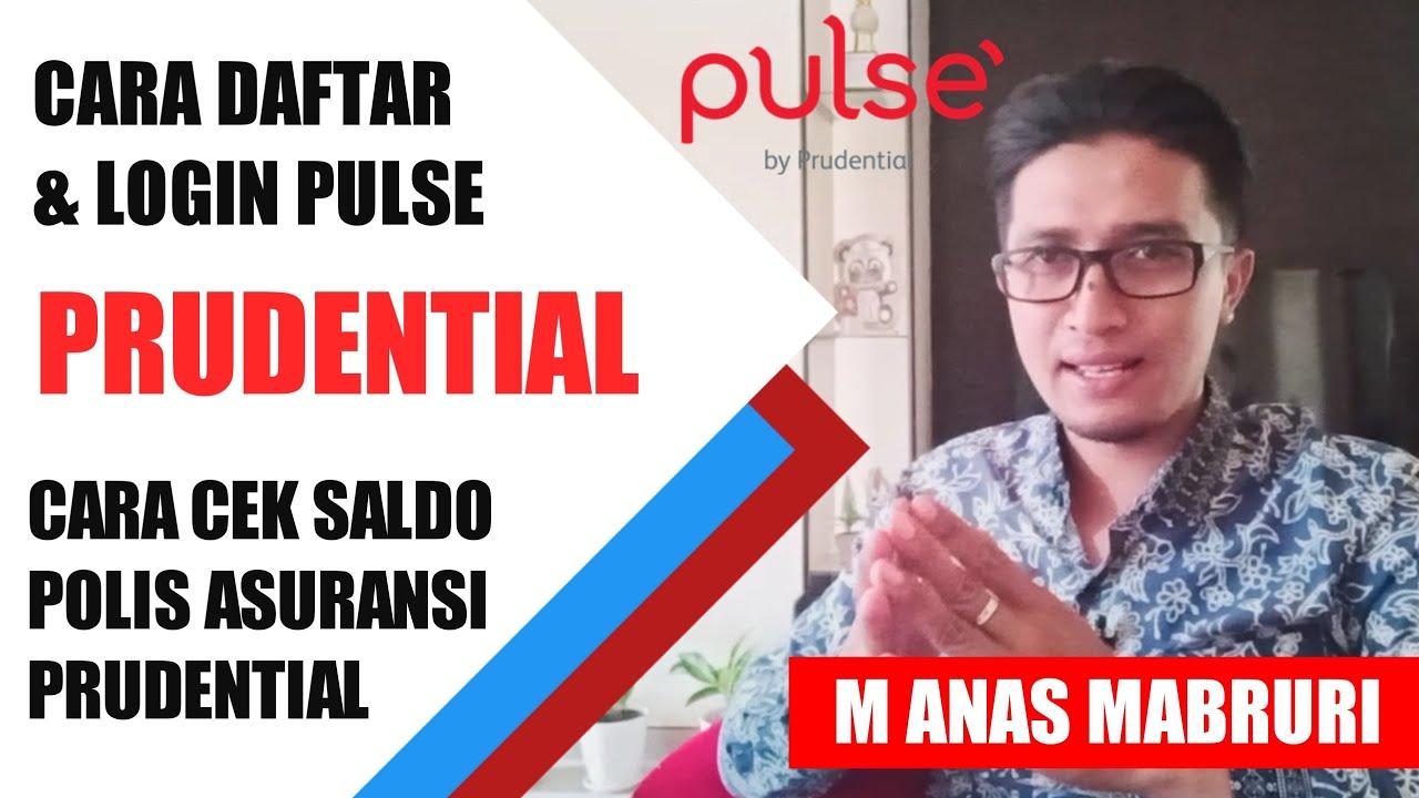 Cara Cek Saldo Prudential Cara Daftar Pulse Prudential Asuransi Gratis Youtube