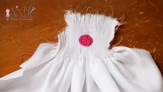 How to picture-smock a circle | Sewing Tutorial
