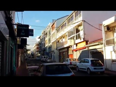 Downtown Saint Pierre ~ Reunion Island