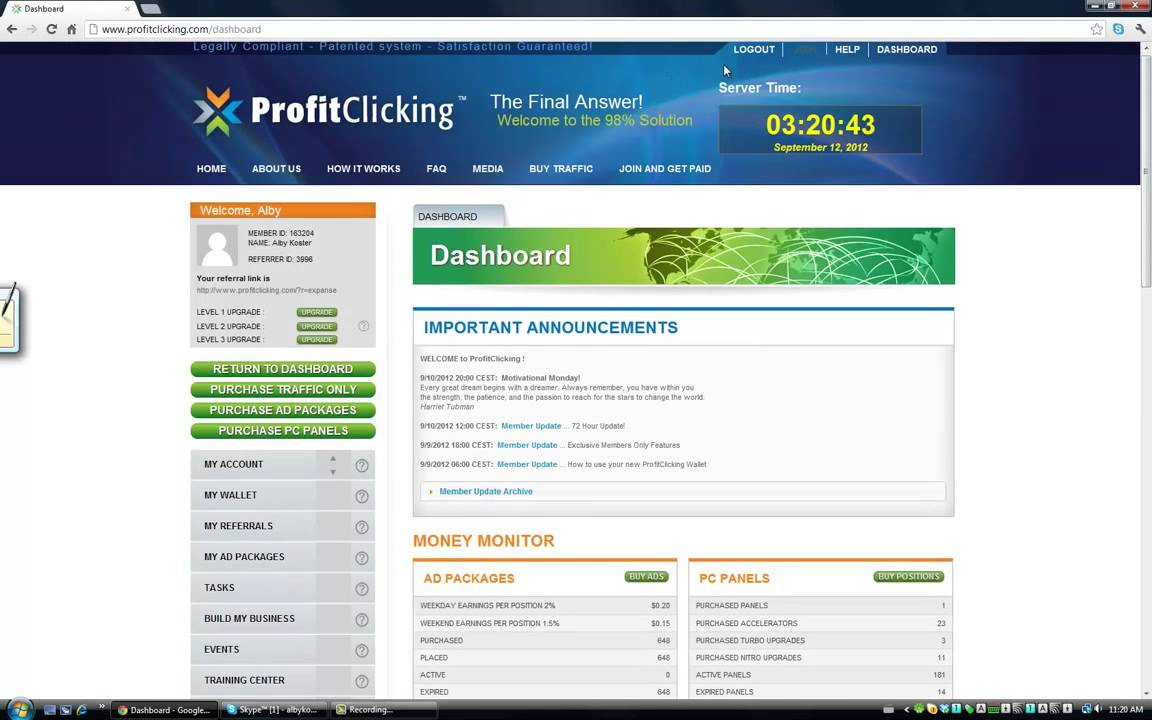 ProfitClicking Review - YouTube