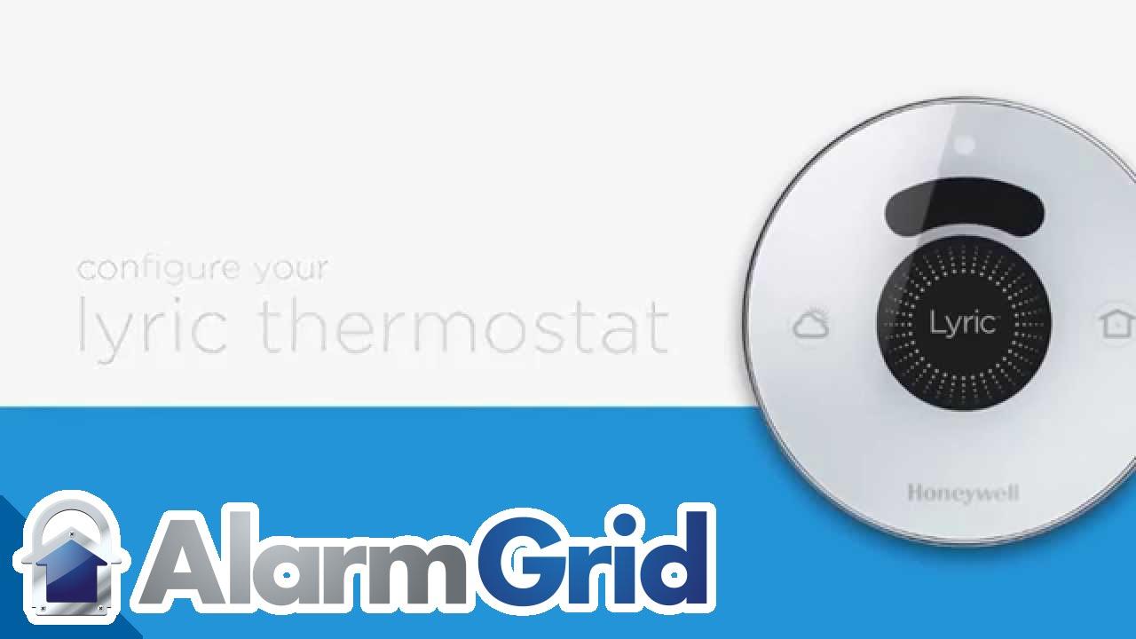 honeywell lyric thermostat configuring the lyric thermostat