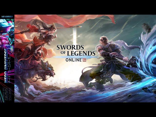 Swords Of Legends Online CBT1 | Klassen-Auswahl & Charakter Editor | Todesbringerin  ☬ Deutsch [PC]