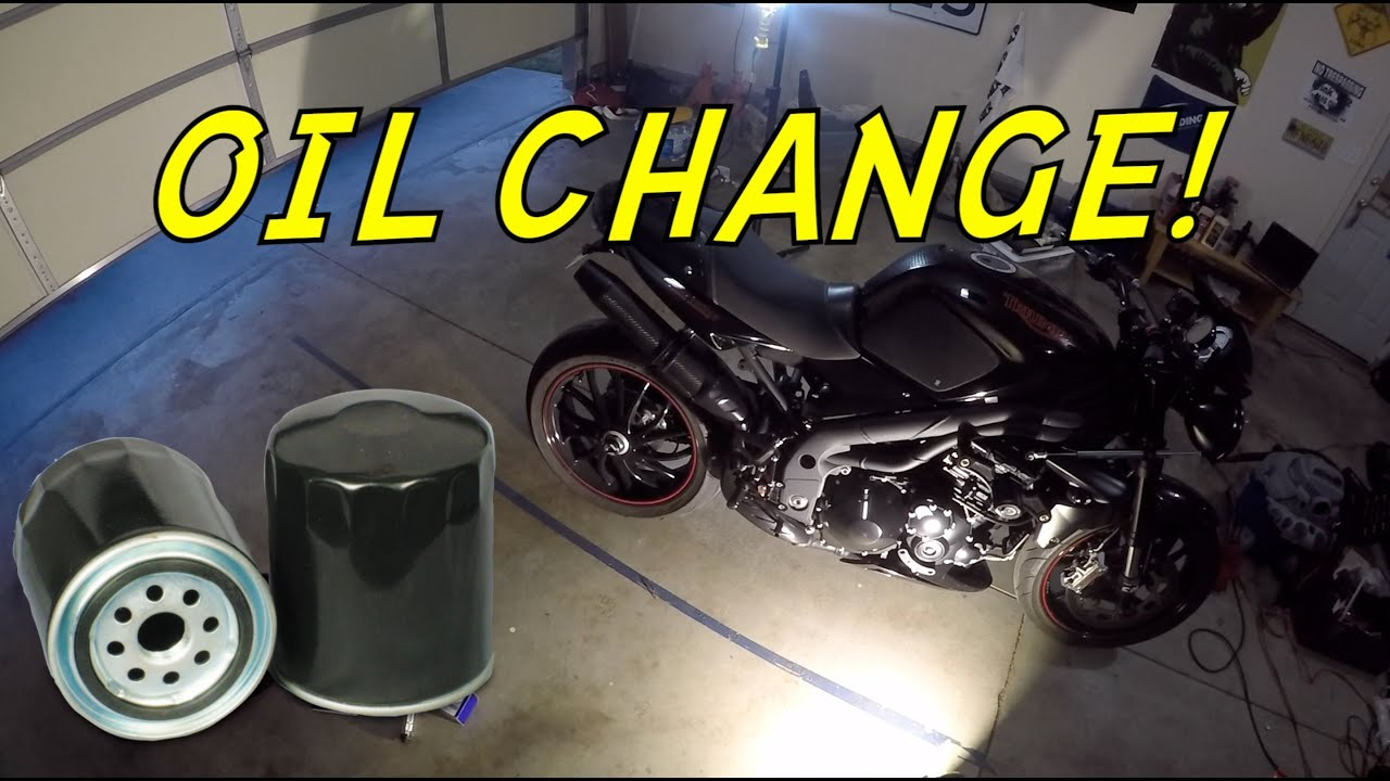 How To Change Oil On A Triumph Speed Triple Nsfw