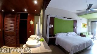 Barcelo Bavaro Palace Delux - Family Jr Suite Room # 6433 Tour - GoPro Hero 5 Karma Grip