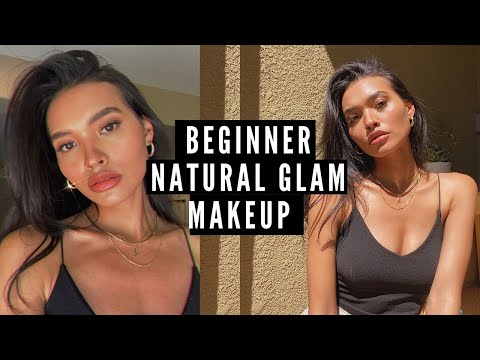 A BEGINNERS GLAM TUTORIAL! FIRST IMPRESSIONS ON NEW PRODUCTS! KOSAS   NICOLE ELISE