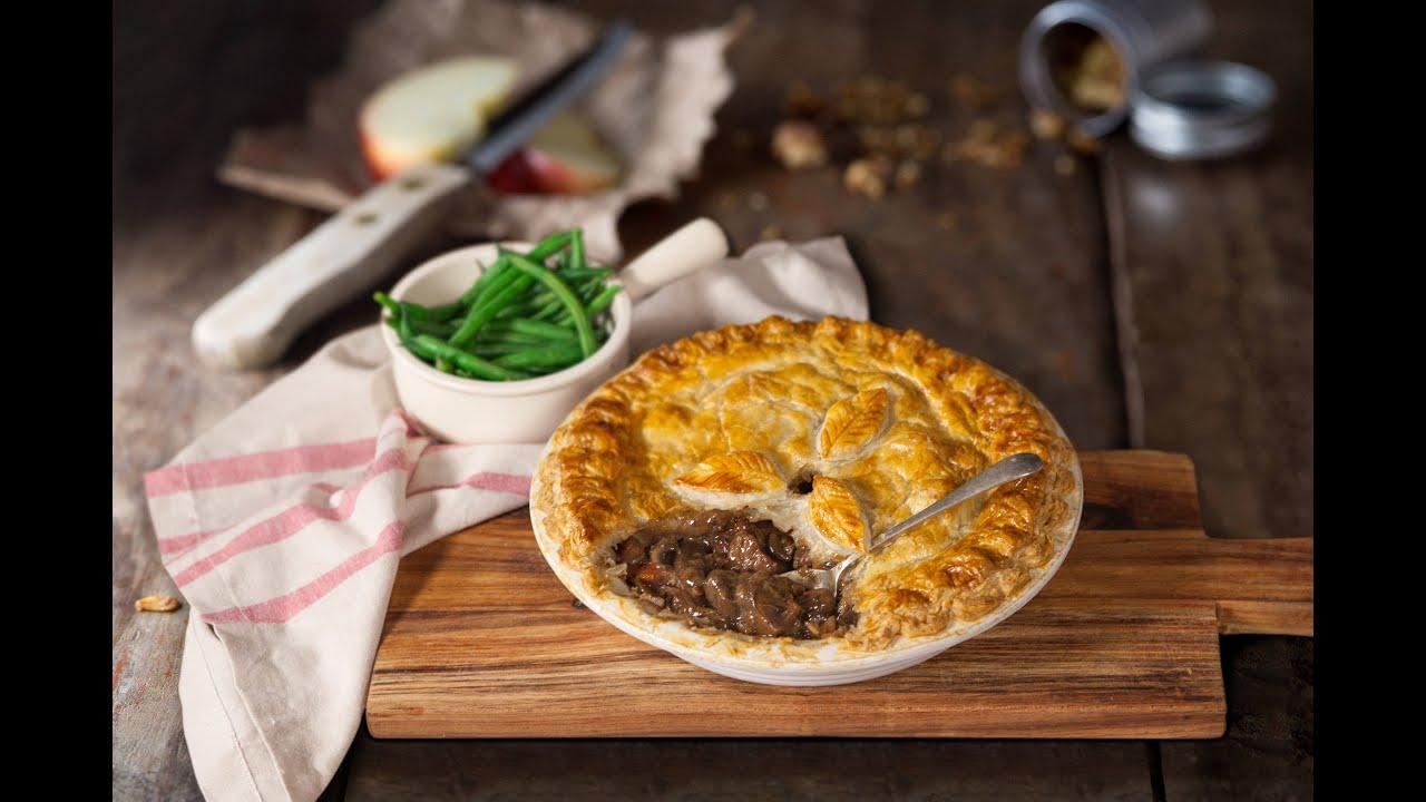Jus Create - Steak & Wild Mushroom Pie - Pastry Recipes ...