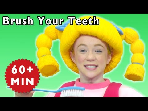 Brush Your Teeth and More | Healthy Habits | Baby Songs from Mother Goose Club!