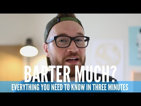 The Barter System in Ministry (IN 3 MINUTES)