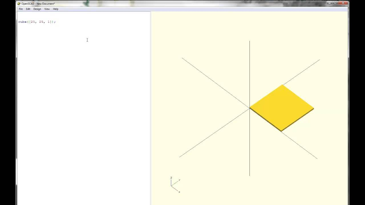 OpenSCAD Tutorial & Cheat Sheet | 3D Printing Blog | i