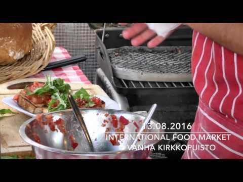 International Food Market - 13.08.2016 at Vanha Kirkkopuisto, Helsinki