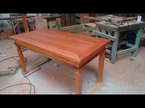 como fazer uma mesa