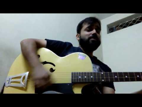 Guitar lesson Tere Kanna De Vich : Ishq Hazir Hai