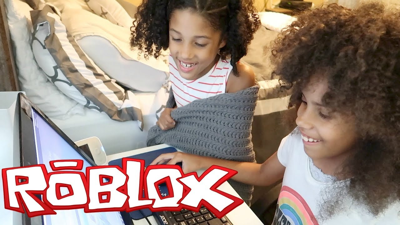 Kids Playing Roblox Youtube